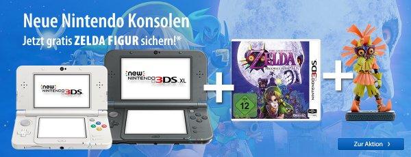 [Müller]  New Nintendo 3DS & 3DS XL Zelda Figur Bundle