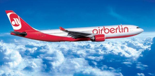[Air Berlin] Valentins-Special: Hin und zurück zu zweit ab 149€