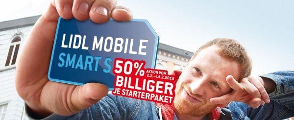 "Lidl Mobil ""Smart S"" Startpaket"