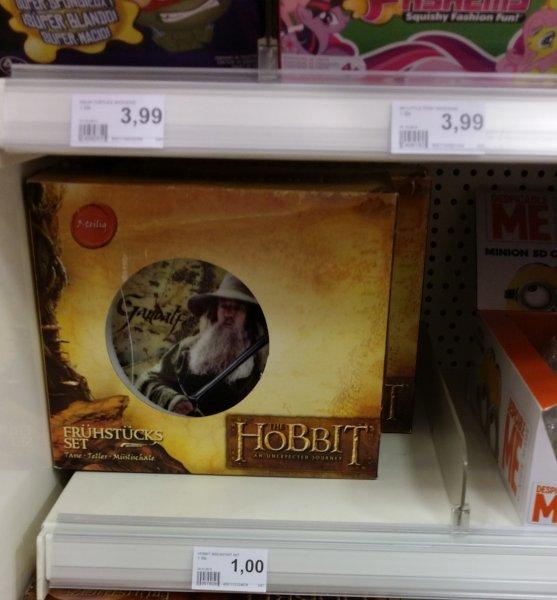 [Lokal - Bremen] Der Hobbit - Frühstücksset für 1,00€ im Rossmann