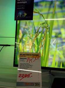 [lokal HH]  Philips 55PUS8809 4k Ultra HD TV mit Android OS und 3-seitigem Ambilight