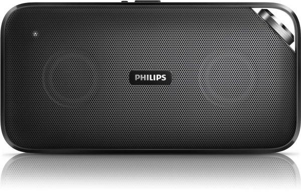 Philips BT3500 portabler Bluetooth-Lautsprecher (Bluetooth, NFC, 10 Watt, Mikrofon) schwarz für 59,26€ @Amazon.com