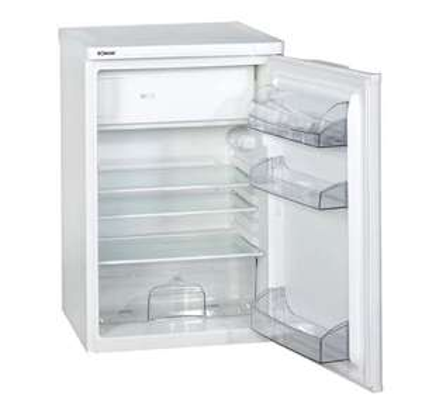 Bomann KS 107.1 Kühlschrank in weiß für 110,99 EUR inkl. Lieferung