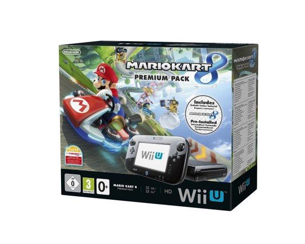 Nintendo Wii U Permium Mario Kart 8 Bundle (vorinstalliert) @Amazon.de