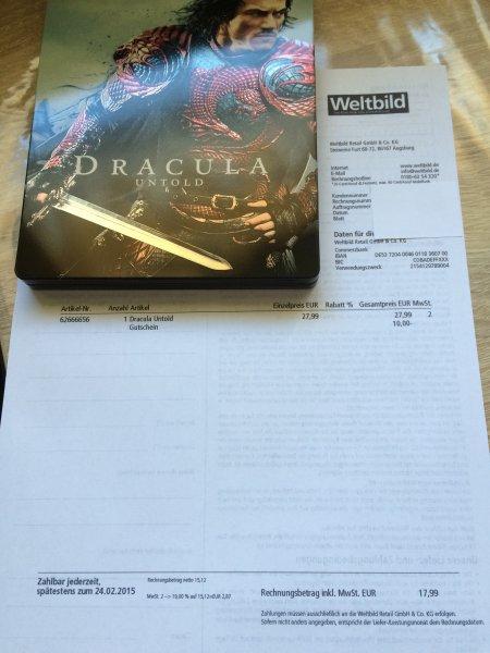 Dracula Untold Steelbook (Weltbild.de)