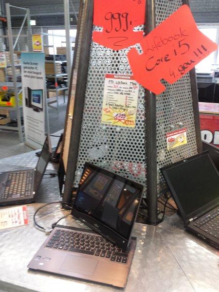 [Lokal] Weiterstadt - Fujitsu Lifebook T904 bei ComputerMax 999€