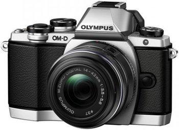 Olympus OM-D E-M10 Kit 14-42 mm II R silber/schwarz ab 600,19€ @Amazon.fr