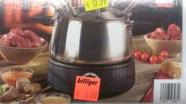 Elektrisches Fondue QUIGG für 8€ statt 17,99 lokal Aldi Altenessen Bf.