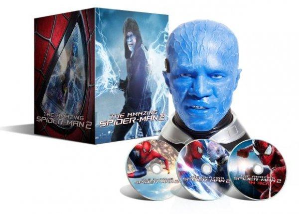 [Amazon Frankreich] The Amazing Spider-Man 2: Electro Collector's Edition (3D + 2D Version / Exklusiv und limitiert bei Amazon) [3D Blu-ray] [Limited Edition] für 59,25€