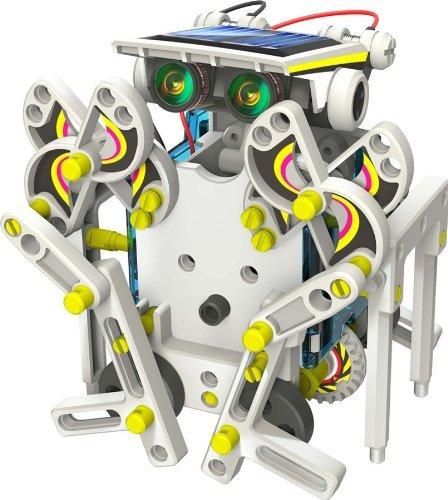 Solar Roboter mit 14 verschiedenen Umbaumöglichkeiten für 10,35 € von Banggood