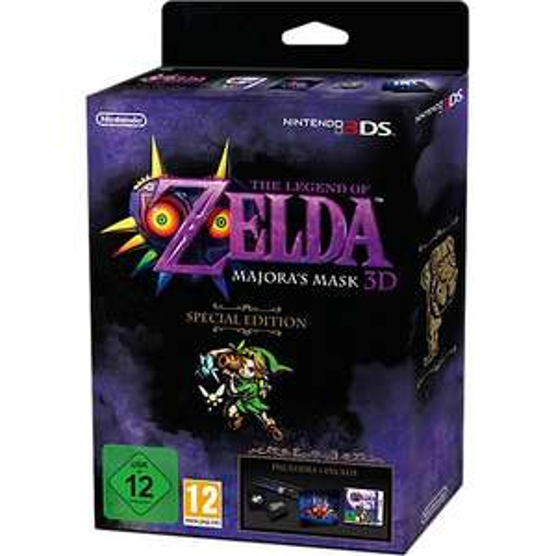 Zelda Majoras Mask 3DS Collectors Edition mytoys.de
