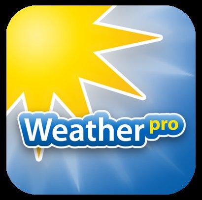 iOS/Android: WeatherPro für Smartphones und Tablets auf 0,99€ reduziert