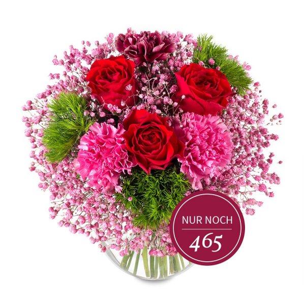 """[Miflora][Valentinstag] Strauß """"Lieblicher Juwel"""" für 15,90 anstelle von 33,80€ (+20% Qipu)"""