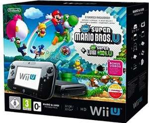Wii U Premium Mario und Luigi [Amazon warehous]