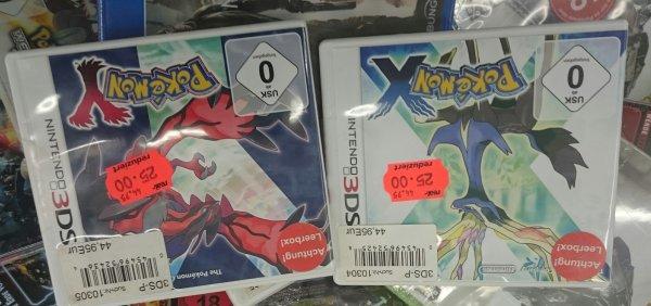 (Lokal Hallstadt Real) Pokemon X & Pokemon Y für jeweils 25 Euro
