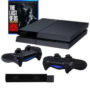 PlayStation 4  inkl. The Last of Us Remastered + 2 DualShock 4 Wireless Controller + Kamera