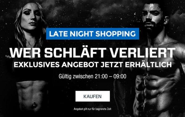 Myprotein.com - Late Night Shopping 40% Rabatt für Nachtschwärmer