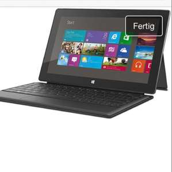 Surface Pro 64GB mit Type-Tastatur neu