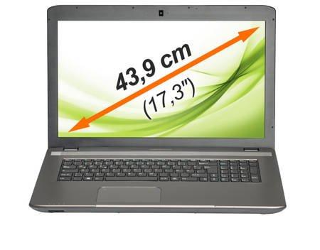 """MEDION® AKOYA® E7223 (MD 98853), Notebook, Core® i3-3110M 2,4 GHz, Windows 8.1, 43,9 cm (17,3"""") 1600 x 900, 4 GB RAM, 500 GB HDD, WLAN für 349,95€ @ MeinPaket"""