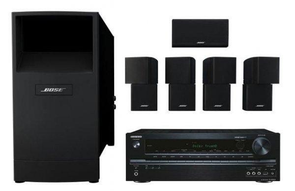 Onkyo TX-NR535 Netzwerkreceiver + Bose Acoustimass 10 Heimkinolautsprecher für 899€ @Cyberport