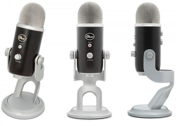 Blue Yeti Pro professionelles USB Mikrofon schwarz mit Standfuß 44% günstiger