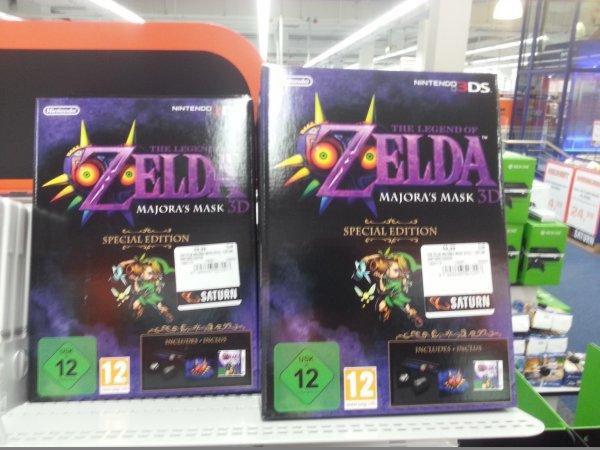 [lokal] The Legend Of Zelda: Majora's Mask 3D Limited Edition für 49,99€ beim Saturn Münster York Ring