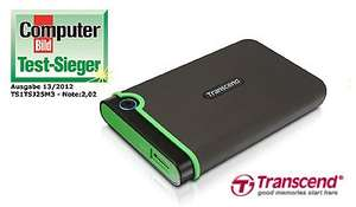 Externe Festplatte 2.5? 1TB Transcend StoreJet für 57,99€ inkl. Versand