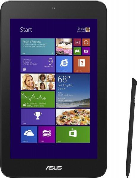 """ASUS VivoTab Note 8 - Atom Z3740 - 4x 1,33GHz, 2GB RAM, 64GB Speicher, Stylus, 8"""" IPS, Windows 8.1 - 234,85€ - ZackZack.de"""