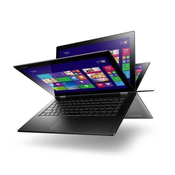 """Lenovo IdeaPad Yoga 2 13 Convertible - 13,3"""" FHD, Intel Core i3, 8GB Ram, 508GB SSHD für 683,95 € @ZackZack"""