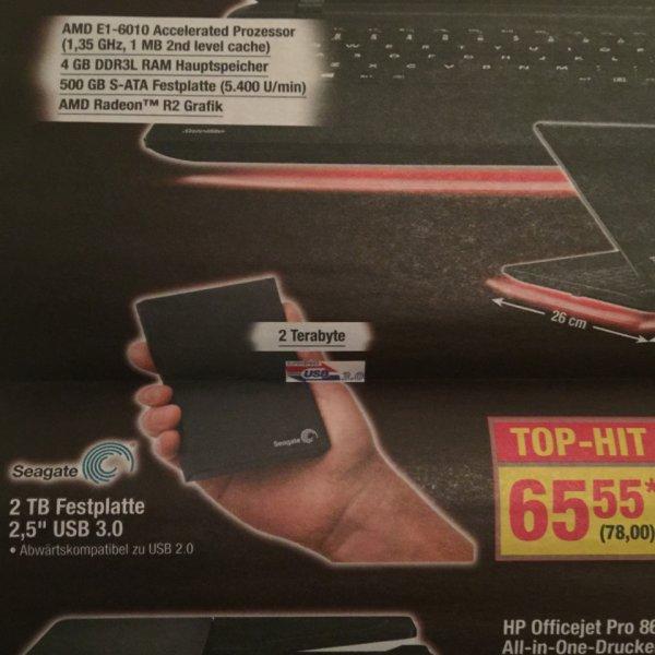 "[Metro] Seagate 2 TB 2,5"" USB 3.0"
