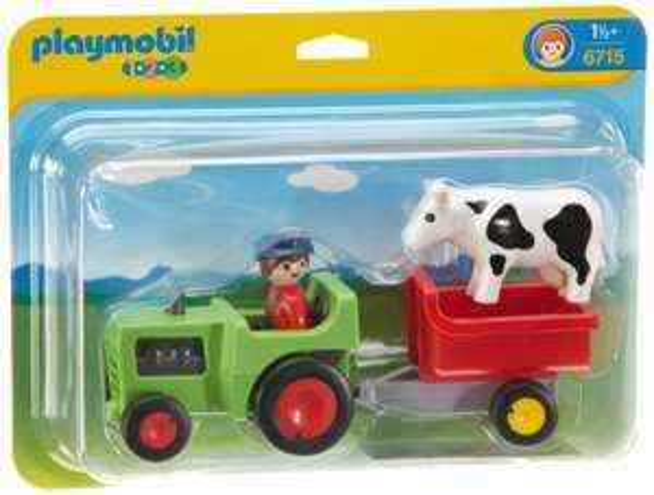 [Blitzangebot] PLAYMOBIL 6715 - Traktor mit Anhänger für 9,99€ @Voelkner