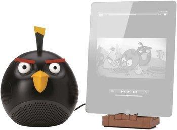 [TheHut.de] Gear4 Angry Birds Docking-Lautsprecher mit EU/UK Netzstecker für iPod, iPhone, iPad, MP3 und Smartphone Geräte - Black Bird für 16,99€ VSK Frei