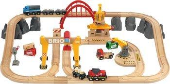 [Amazon.de] Brio 33097 - Holzeisenbahn Set Cargo Deluxe - Frachten Set - 54-teilig 76,25€