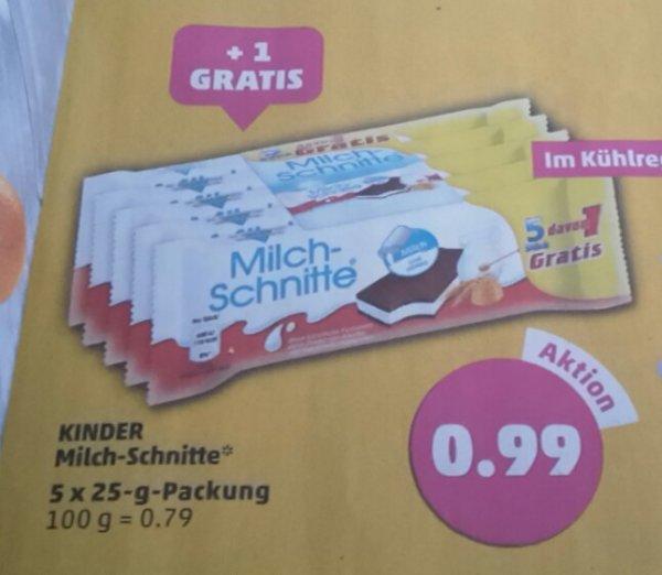 Milchschnitte 5 x 25gr für 0,99 Euro bei Penny ab 16.02.