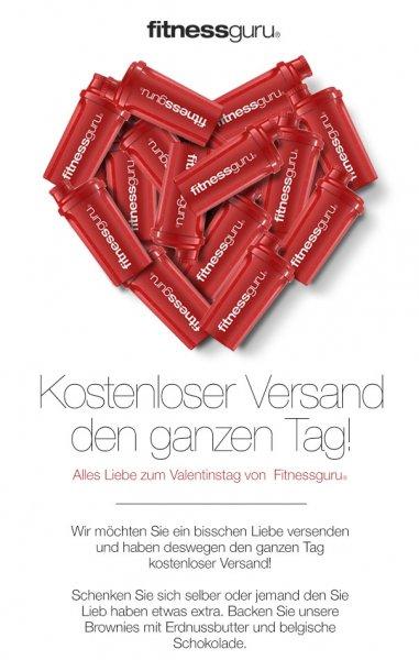 #Valentinstag Fitnessguru kostenloser Versand