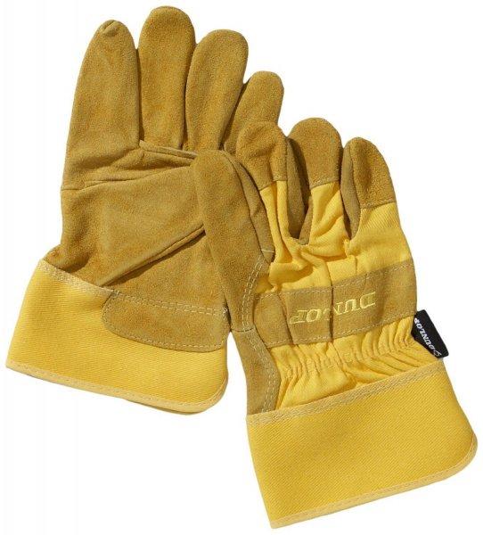 Dunlop 360131 Profi Arbeitshandschuhe Gr. L, Leder & Baumwolle für 6,95€ inkl. VSK