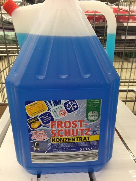 [LOKAL BERLIN] ALDI Frostschutzkonzentrat 5 Liter für 3,50€ (evtl. bundesweit ALDI Nord)