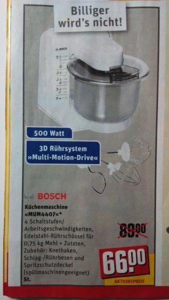 [REWE] Bosch Küchenmaschine MUM4407 für 66 Euro