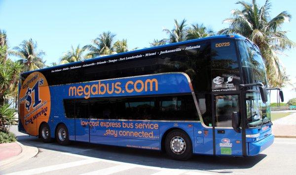 Megabus München-Köln-München // Köln-München-Köln
