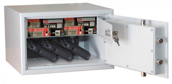 Kurzwaffentresor VDMA Stufe B mit Innentresor für 129 EUR inkl. Versand!