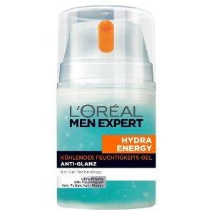 (AMAZON PRIME) L'Oréal Paris Men Expert Hydra Energy Kühlendes Feuchtigkeits-Gel Anti-Glanz, 50 ml
