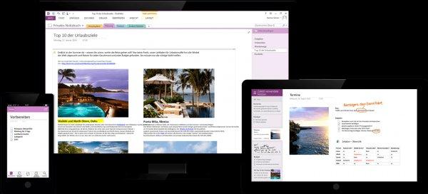 Microsoft One Note 2013 jetzt dauerhaft Gratis