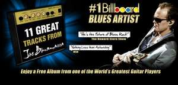 Joe Bonamassa - Gratis Album zum Download mit 11 Songs !