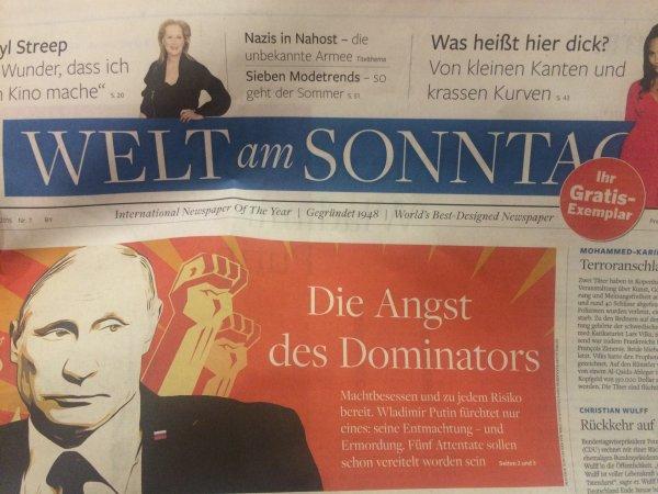 "[lokal Nürnberg] gratis ""Welt am Sonntag"" am Hauptbahnhof"