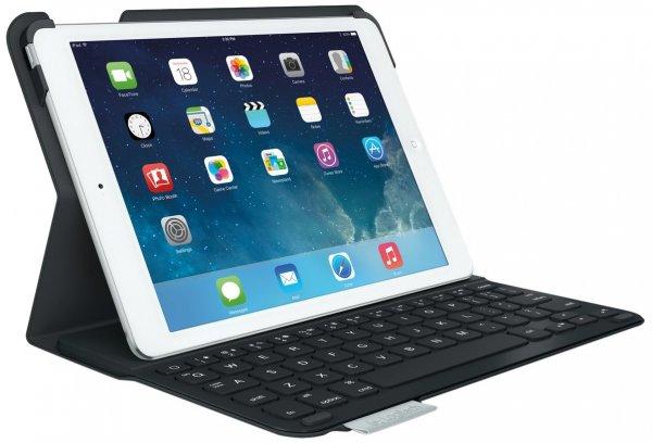 Logitech UltraThin Keyboard Folio (Bluetooth Tastatur für iPad Air) für 39,99 € oder 22,99 € statt 99,99 €