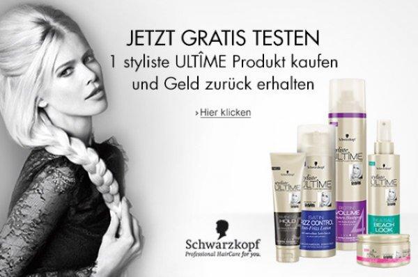2 Styliste Ultime Produkte gratis testen