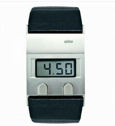 BRAUN Designklassiker Armbanduhr * Voelkner * erstmals unter 100 € mit Gutscheincode