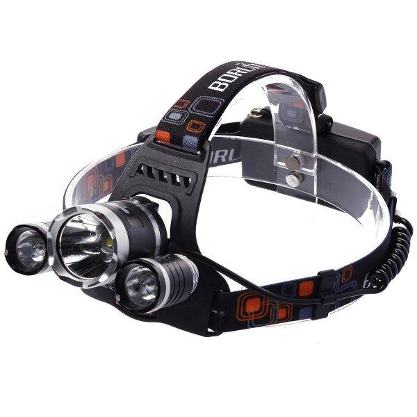(banggood) XCSOURCE 5000LM 3x CREE T6 LED Stirnlampe 24,36€ statt 33€ (amazon)