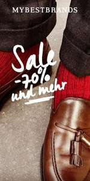 Mybestbrand Sale bis 70% Herren Marken wie Versace,G-star,Calvin Klein,uvm