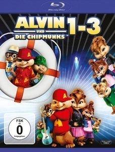 (Mediamarkt.de) (BluRay) Alvin und die Chipmunks 1-3